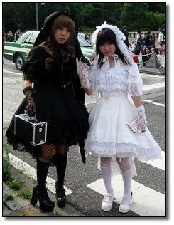 Shiro & Kuro lolita cookingwiththehamster