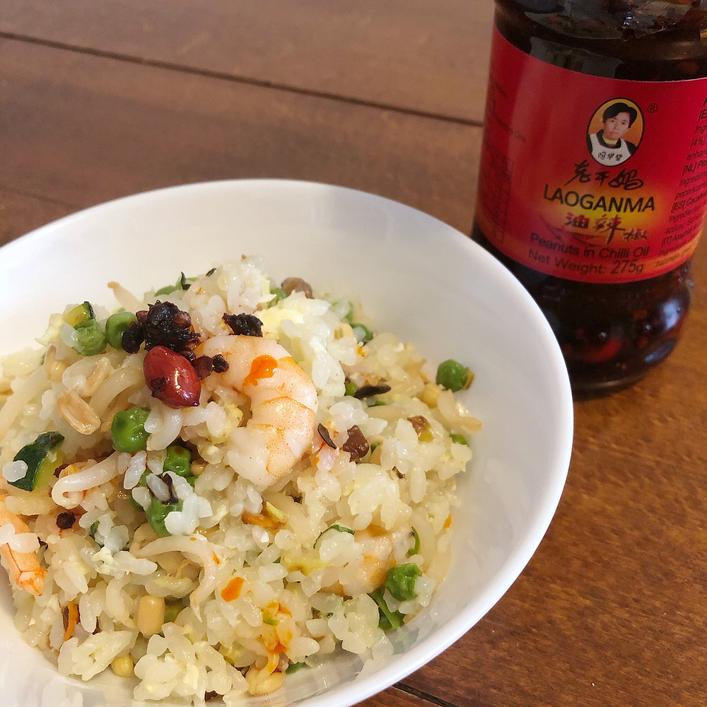 Prawns and vegetables fried rice recipe Cookingwiththehamster