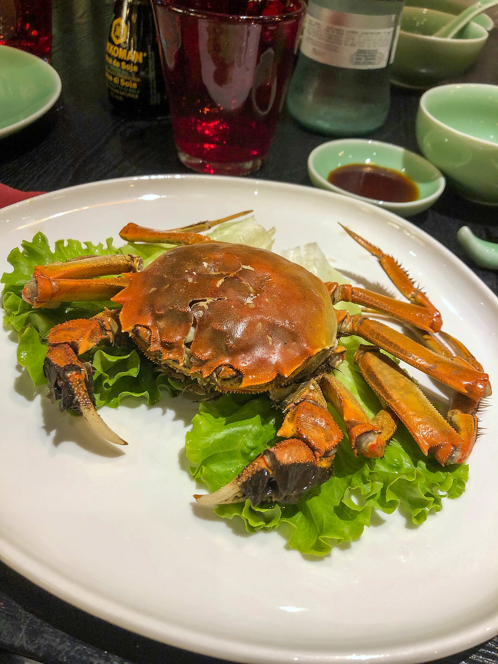 168 Chinese Township steamed crab Cookingwiththehamster