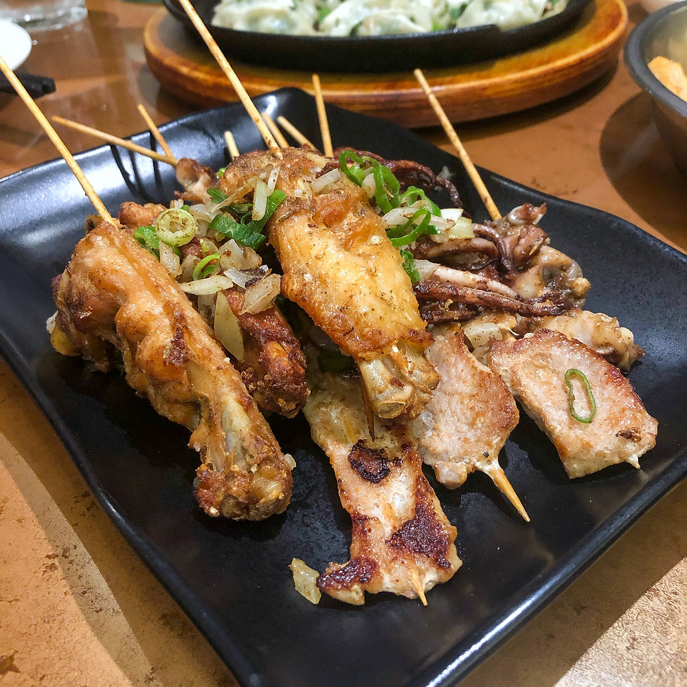 Mixed skewers houjie Cookingwiththehamster