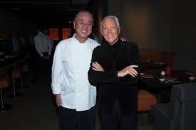 Nobu and Giorgio Armani cookingwiththehamster