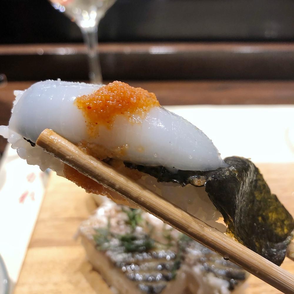 Ika nigiri shiro poporoya Cookingwiththehamster