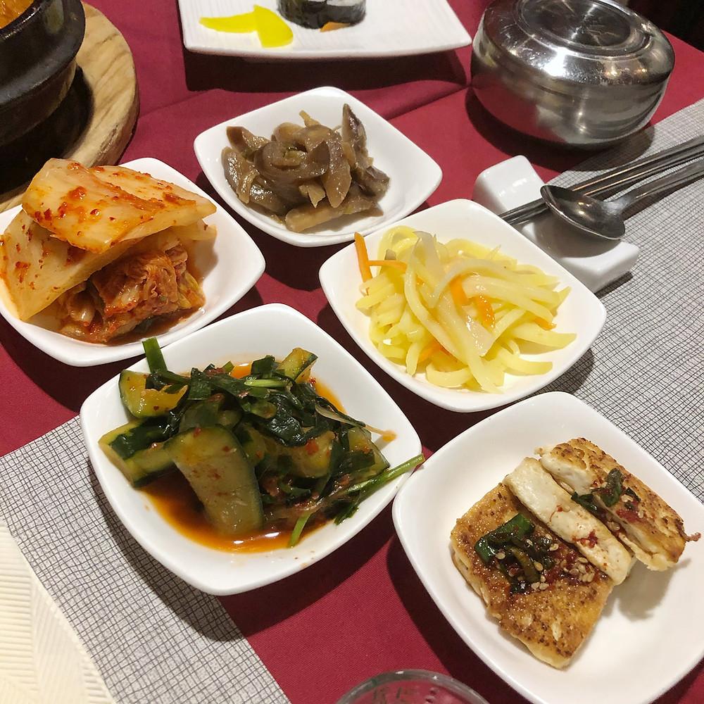 Banchan gaya ristorante coreano milano Cookingwiththehamster