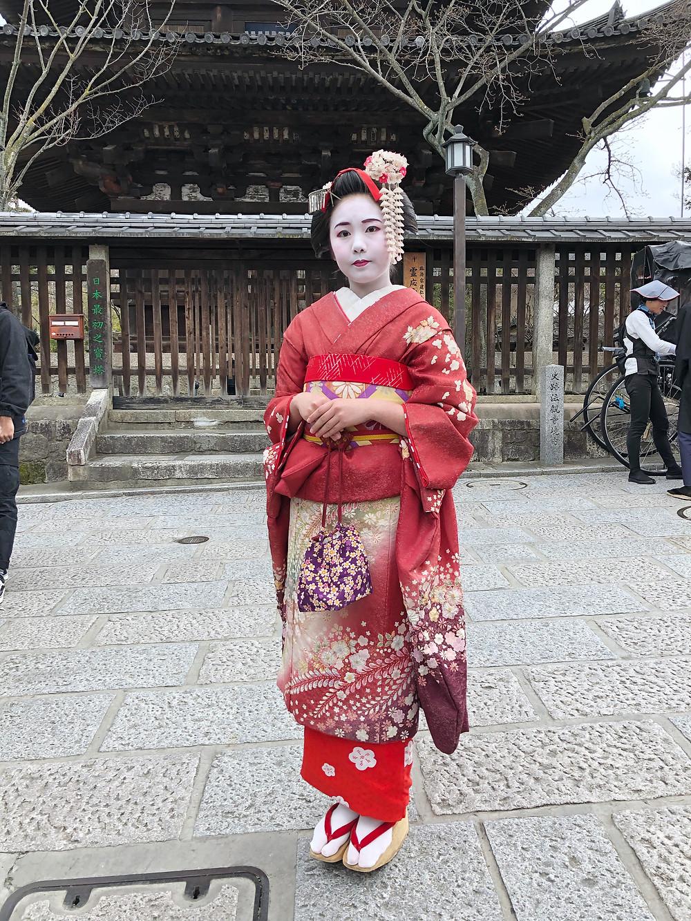 yasaka pagoda maiko kyoto cookingwiththehamster