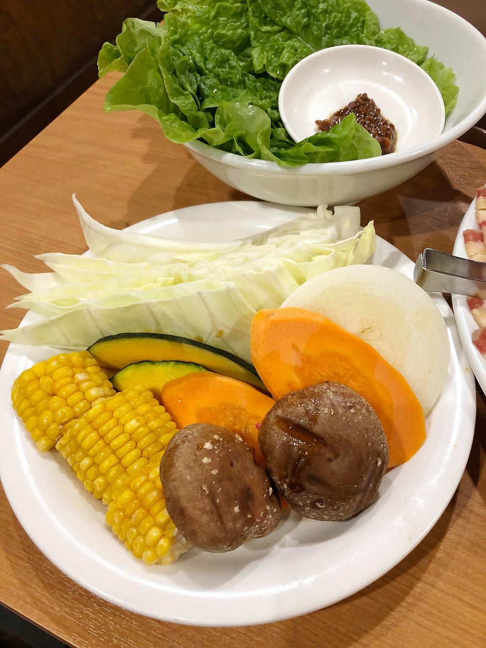 Gyushige shibuya tokyo yakiniku Cookingwiththehamster