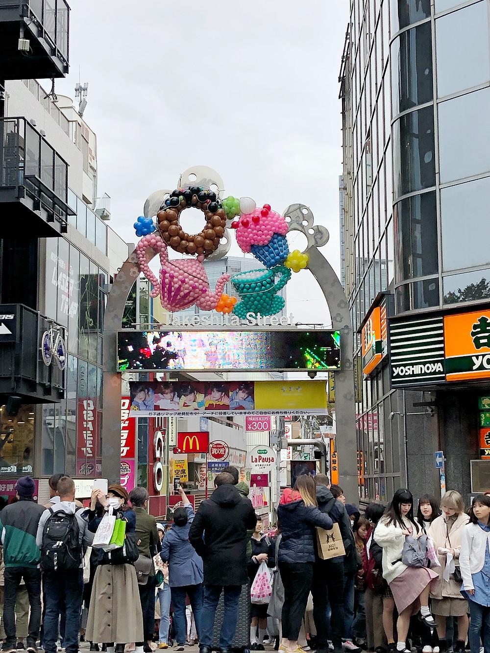 Takeshita dori street harajuku Cookingwiththehamster