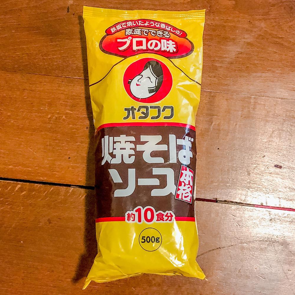 Yakisoba Otafuku sauce Cookingwiththehamster