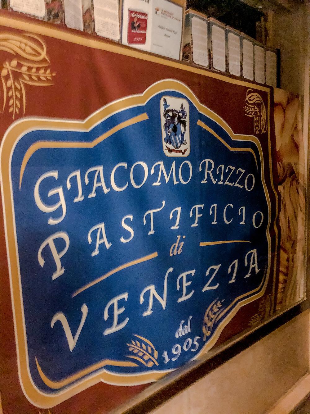Pastificio Giacomo Rizzo Cookingwiththehamster