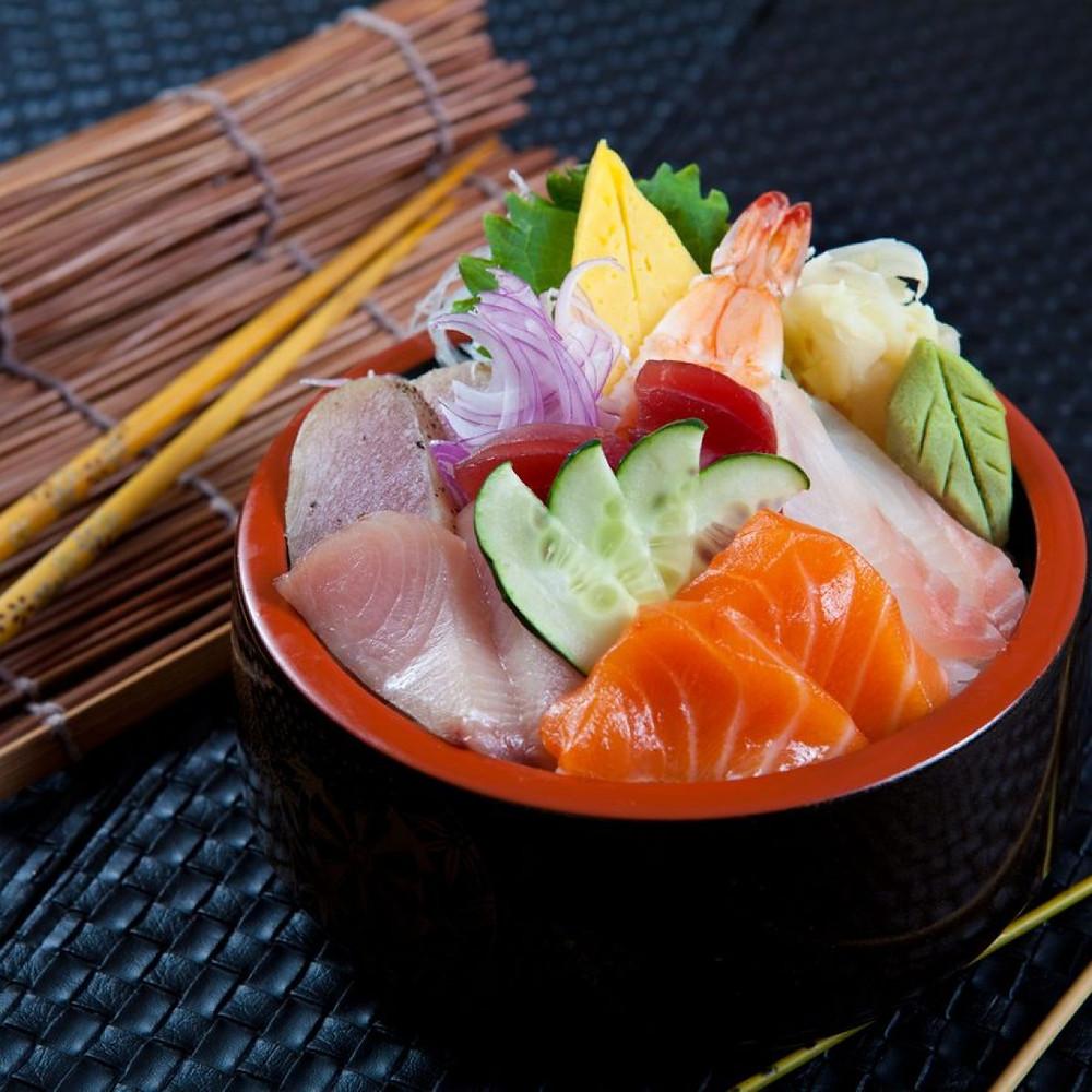 cirashi sushi cookingwiththehamster