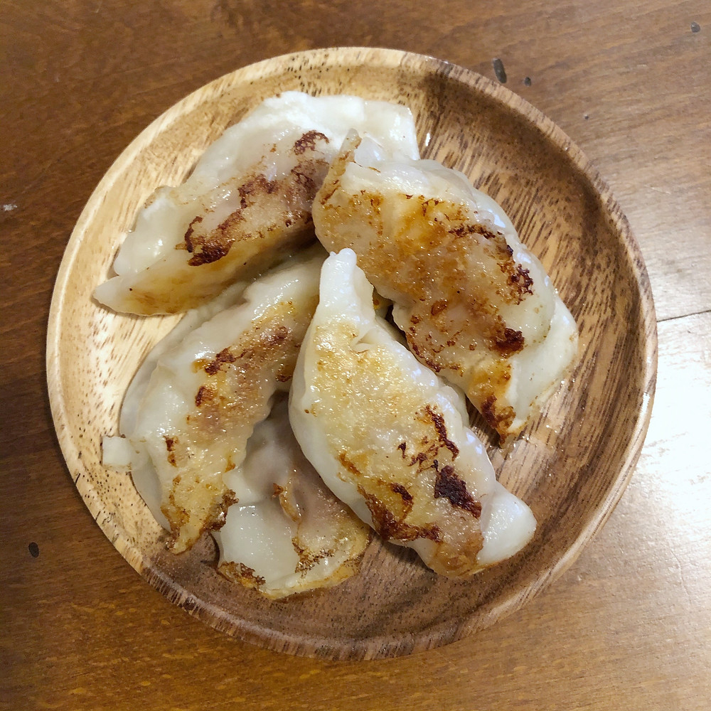 Jiaozi guotie cookingwiththehamster
