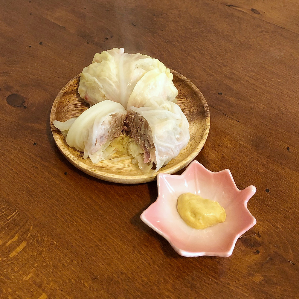 Roll Kyabetsu recipe ricetta Cookingwiththehamster