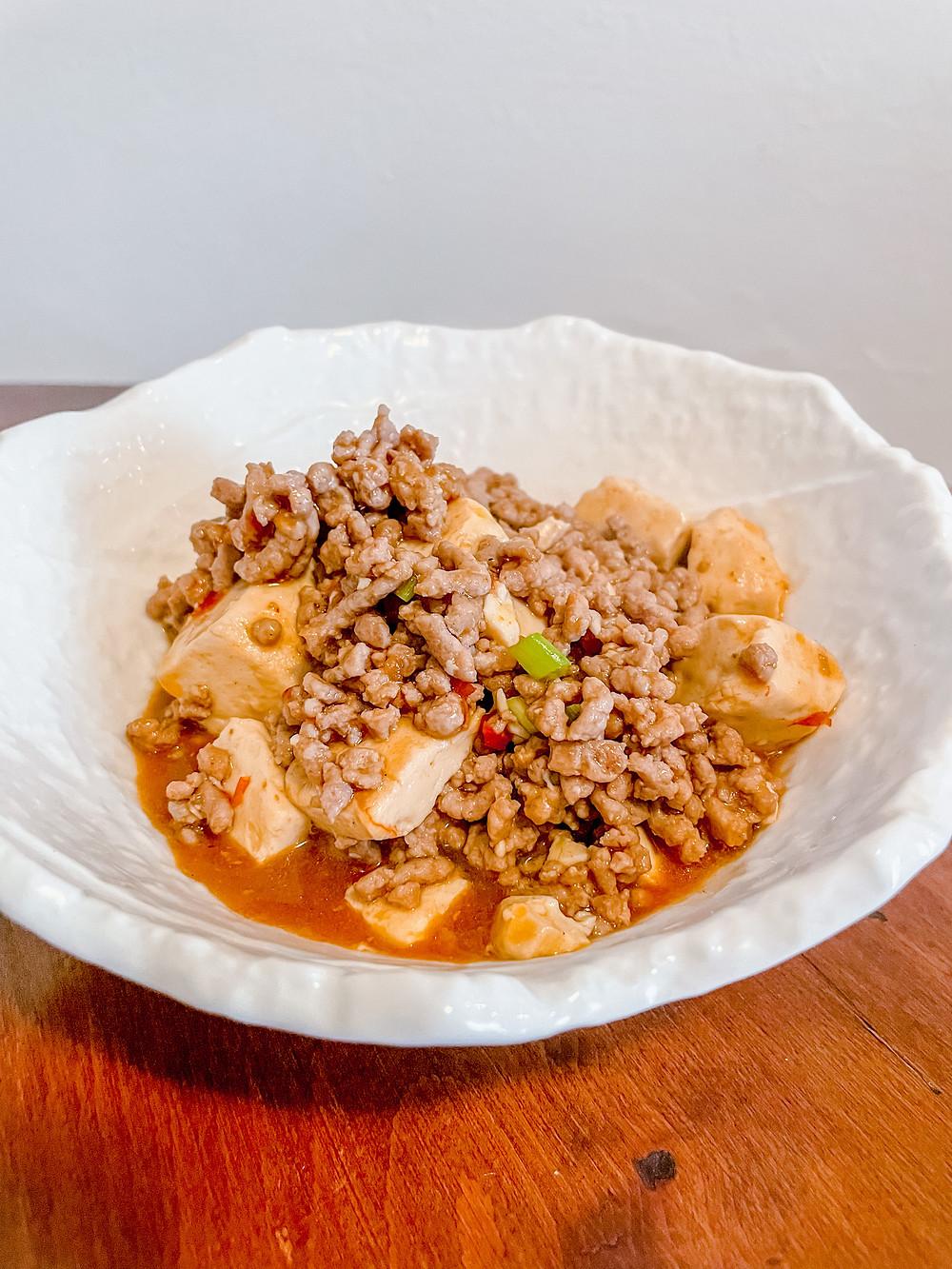 Kathay mapo tofu Cookingwiththehamster