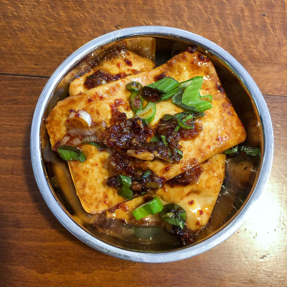 Dobu-jorim ricetta recipe tofu spicy Cookingwiththehamster