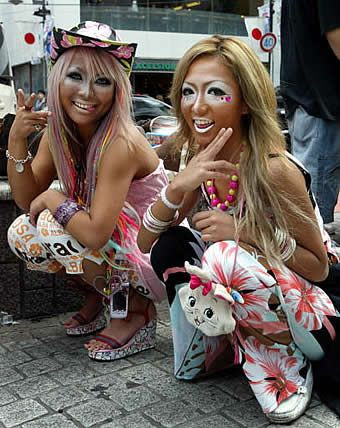 Ganguro |cookingwiththehamster