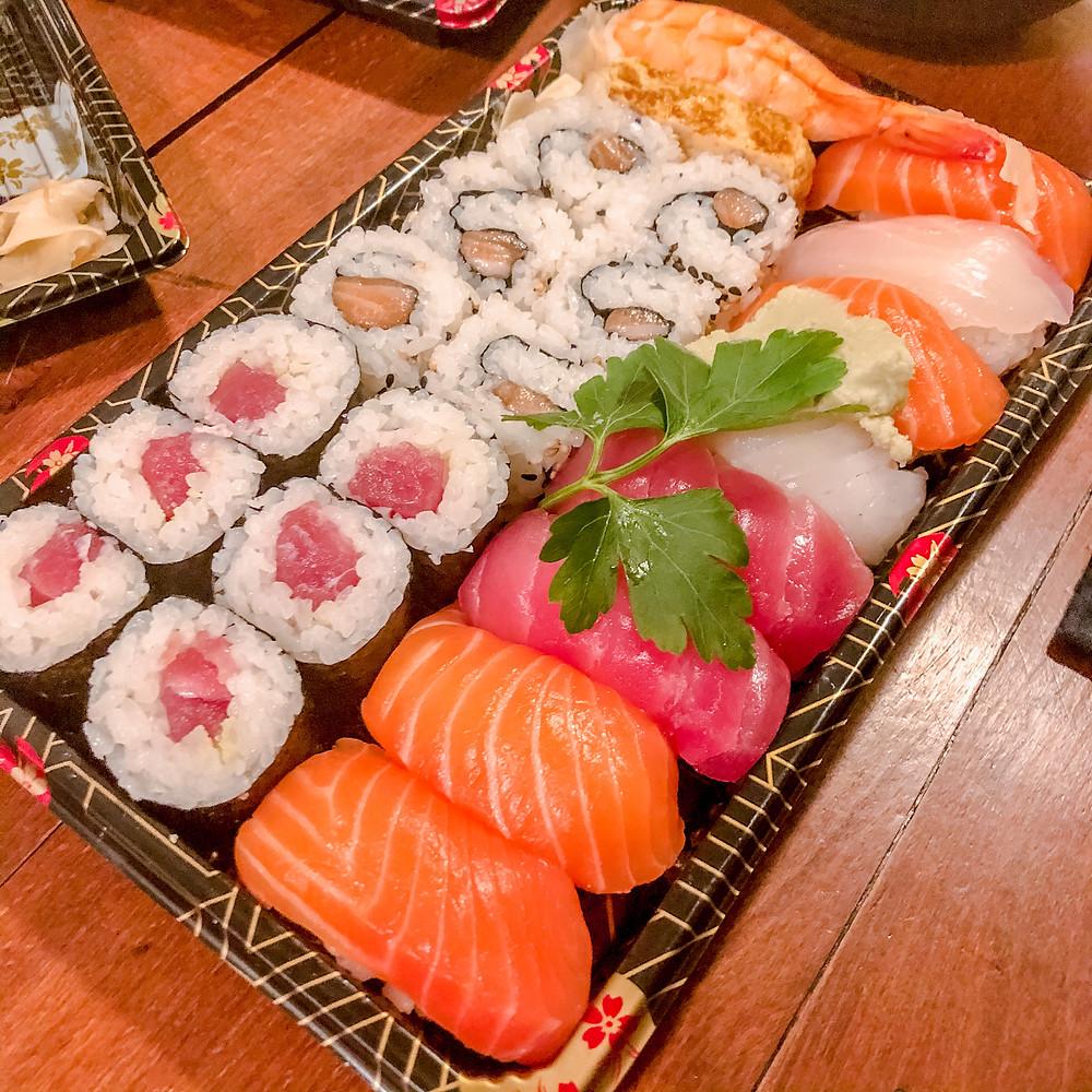 Sushi mix tomoyoshi porpora Cookingwiththehamster