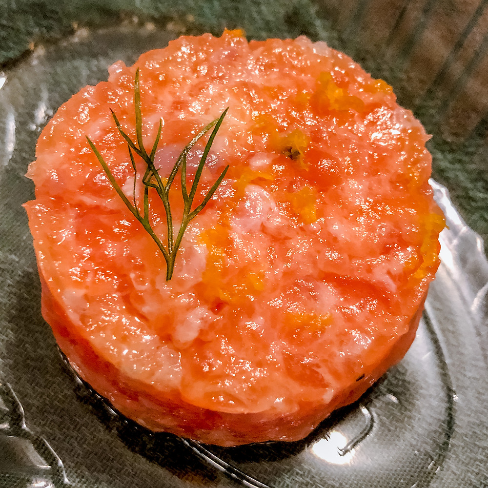 Tartare di salmone mu delivery Cookingwiththehamster
