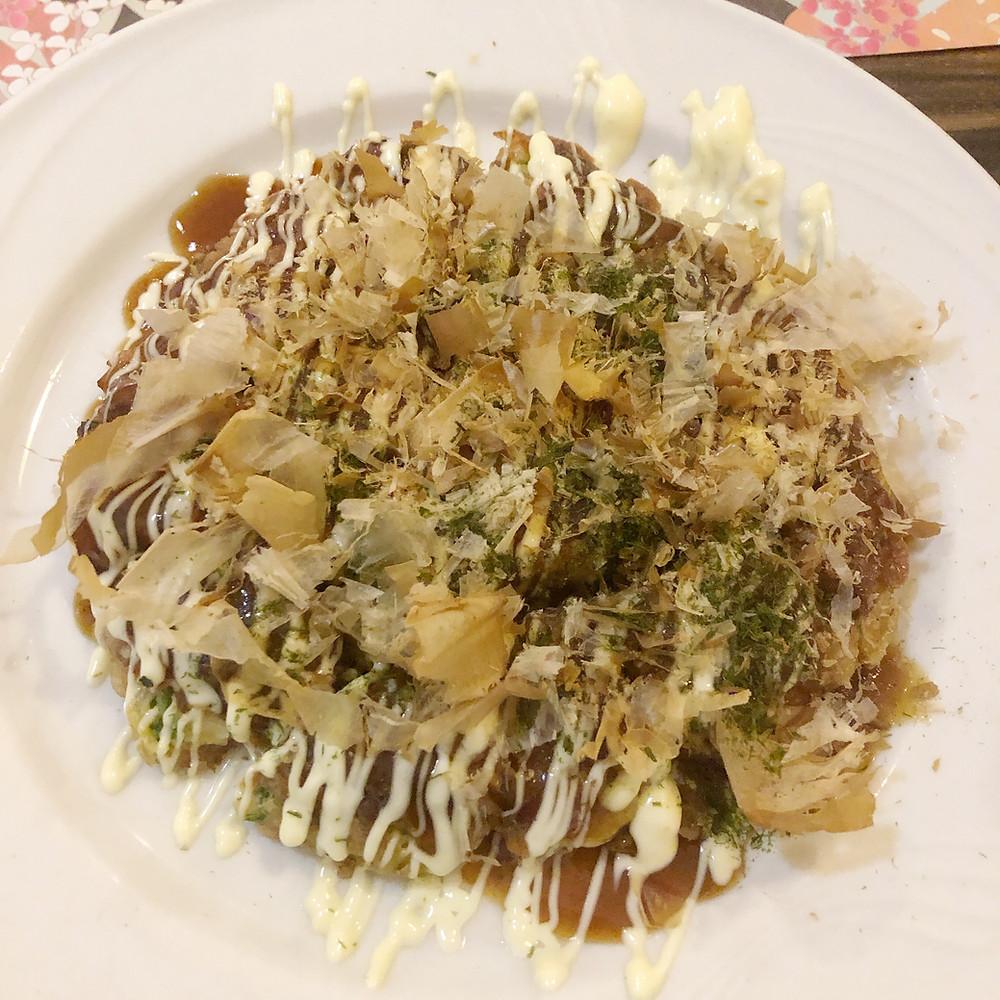 Okonomiyaki oasi giapponese milano Cookingwiththehamster