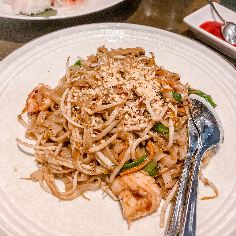 Jade café pad thai Cookingwiththehamster
