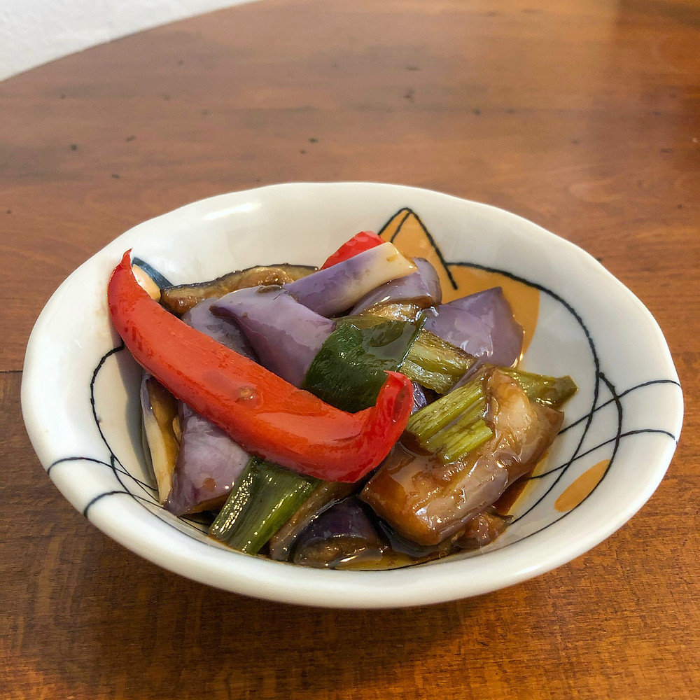 Chinese eggplants ristorante yuebinlou milano Cookingwiththehamster