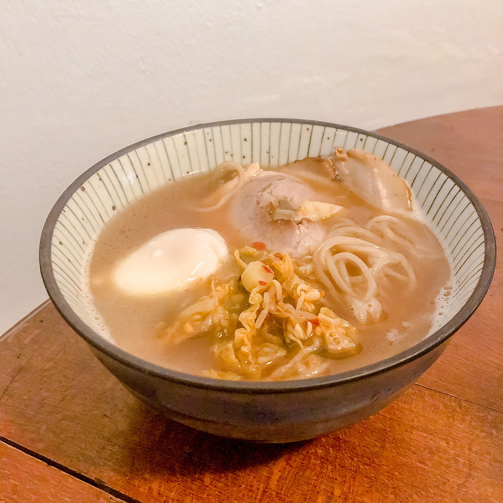 Tonkotsu shoyu ramen Cookingwiththehamster