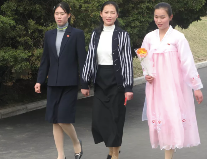 DPRK fashion style cookingwiththehamster