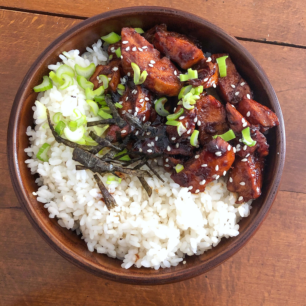 Chicken teriyaki donburi ricetta recipe Cookingwiththehamster