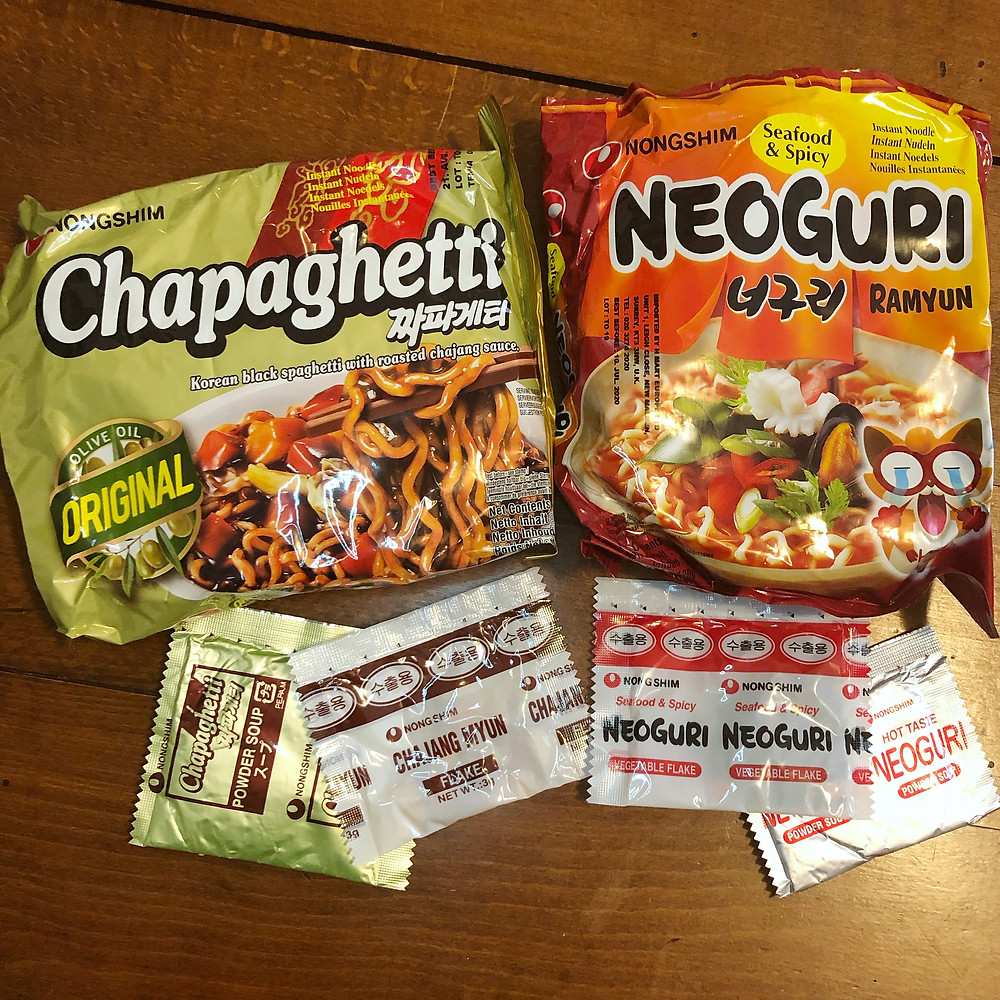 chapaghetti neoguri parasite noodles cookingwiththehamster