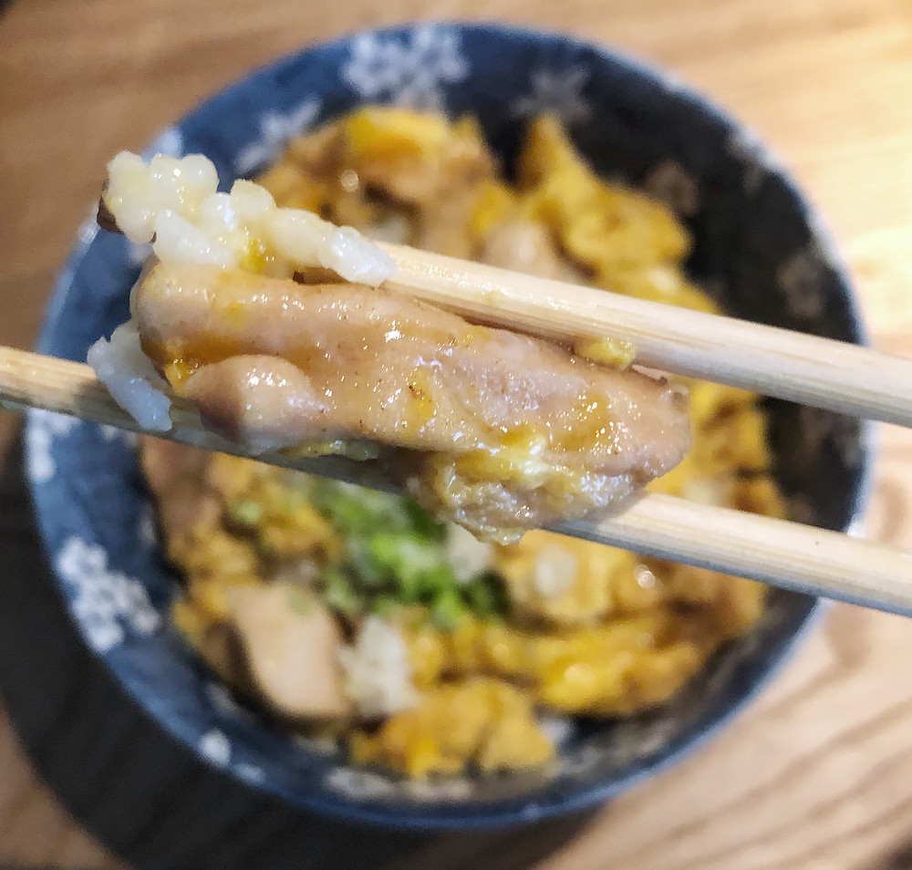 Oyakodon giappone ricetta recipe Cookingwiththehamster