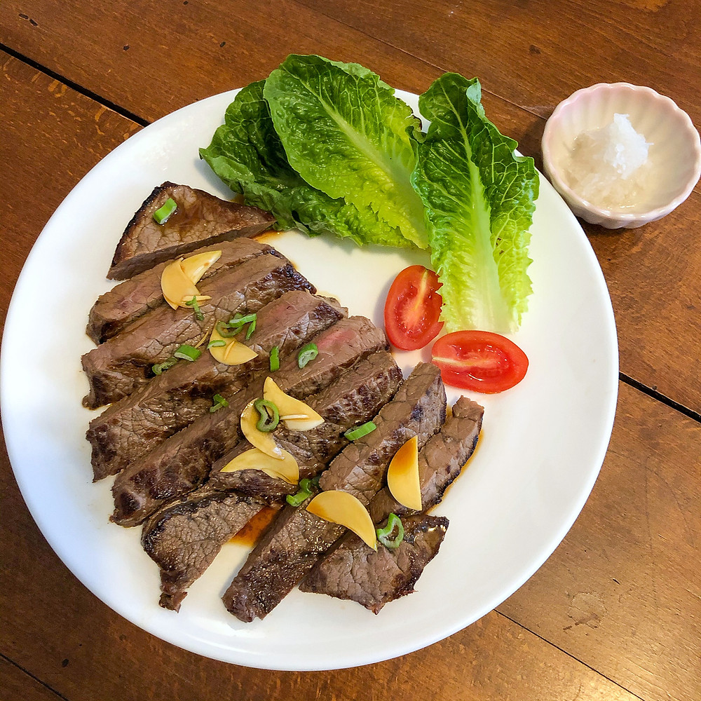 Wafu steak ricetta recipe Cookingwiththehamster