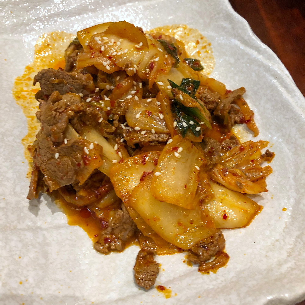 Pork belly with kimchi my kimchi milano Cookingwiththehamster