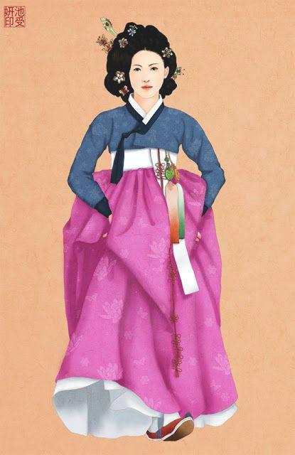 Joseon hanbok cookingwiththehamster