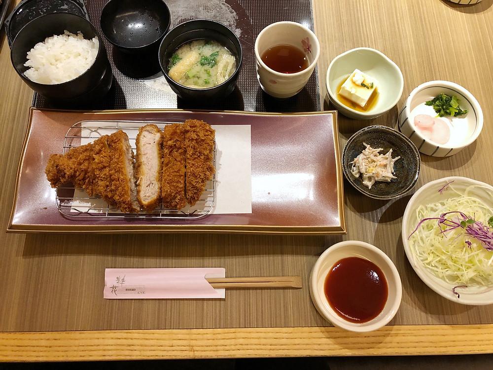 Wako Tonkatsu Isetan kyoto Cookingwiththehamster