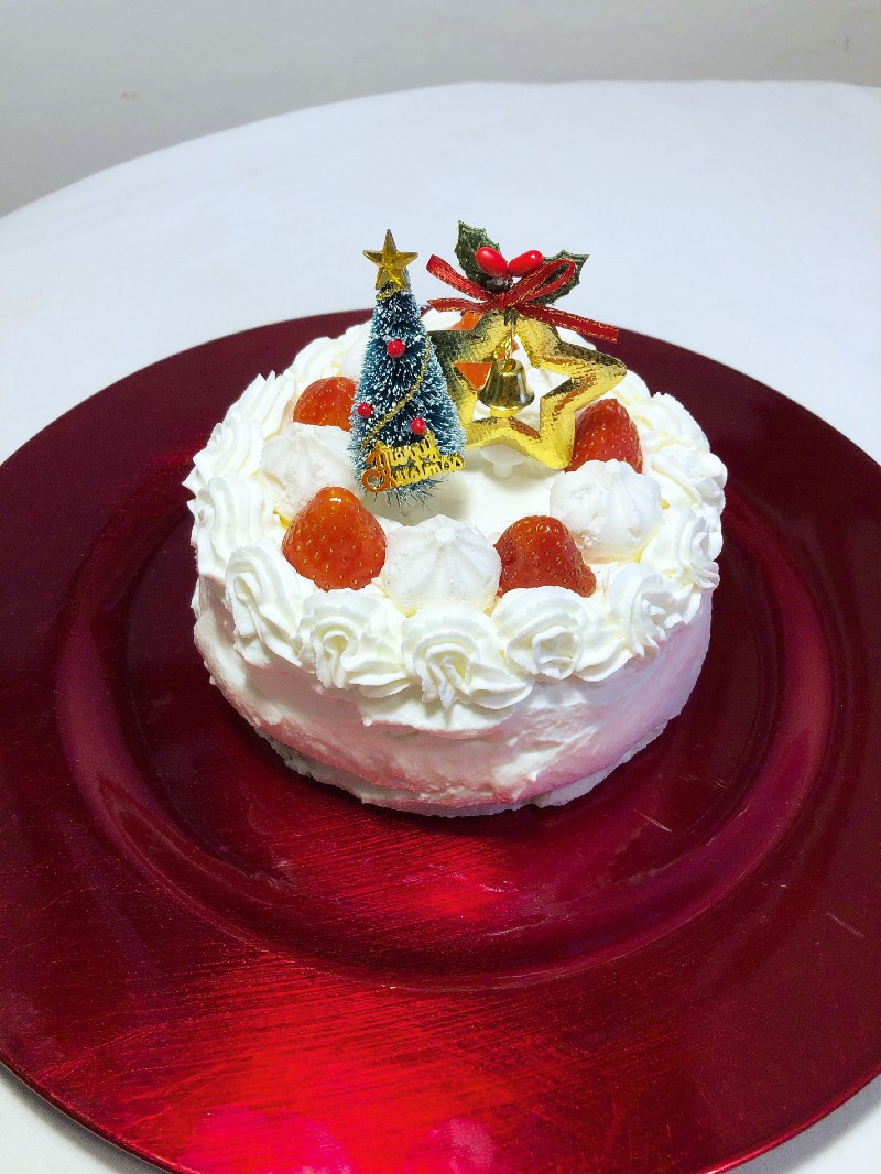 Japanese Christmas cake cookingwiththehamster