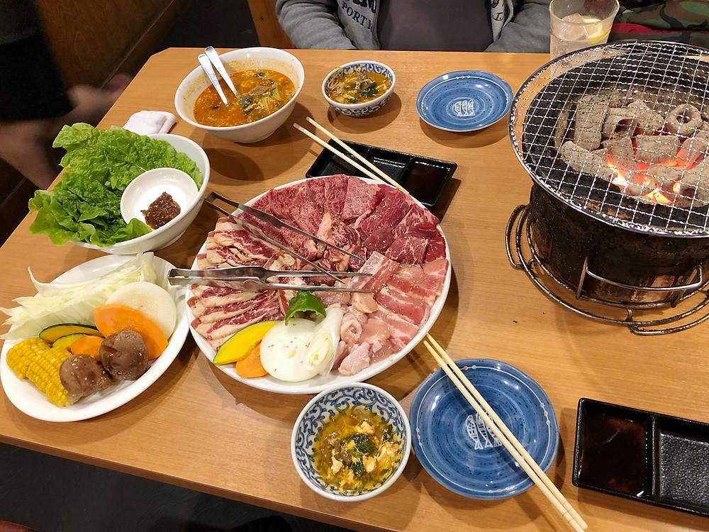 Gyushige yakiniku shibuya Cookingwiththehamster