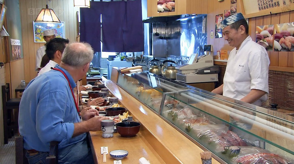 Rick Stein and the Japanese ambassador cookingwiththehamster