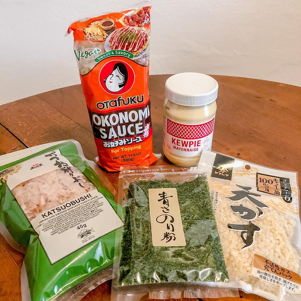Ingredients - Oishii Planet cookingwiththehamster