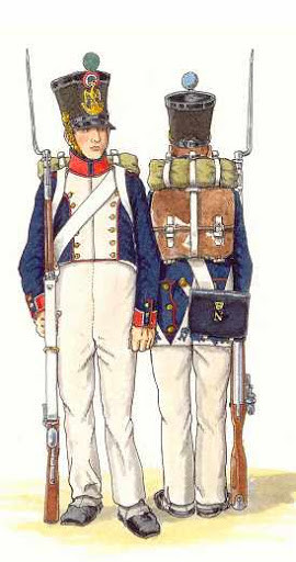 Napoleonic blue uniform cookingwiththehamster
