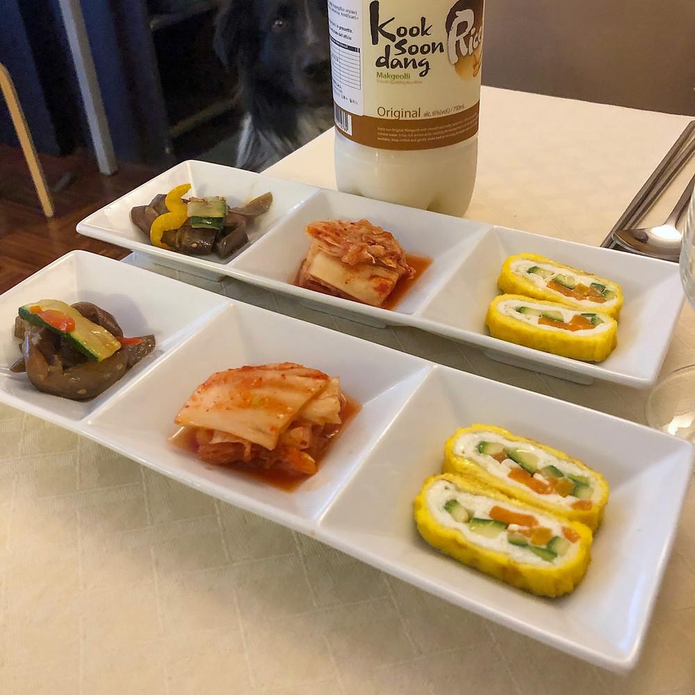 Banchan ginmi milano coreano Cookingwiththehamster