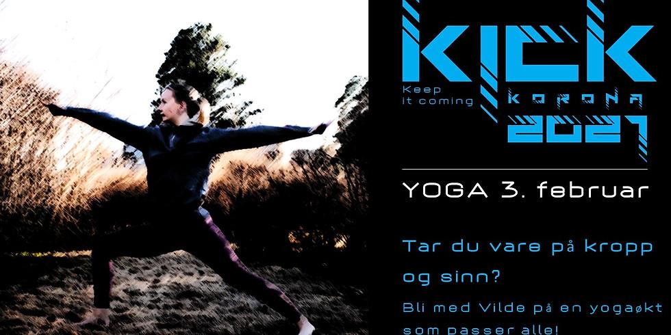KICK 2021 - Yoga med Vilde!