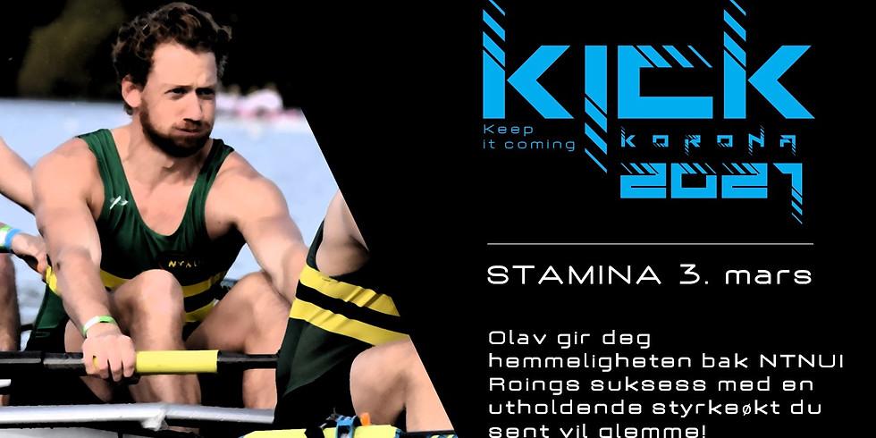 KICK 2021 - Stamina med Olav!