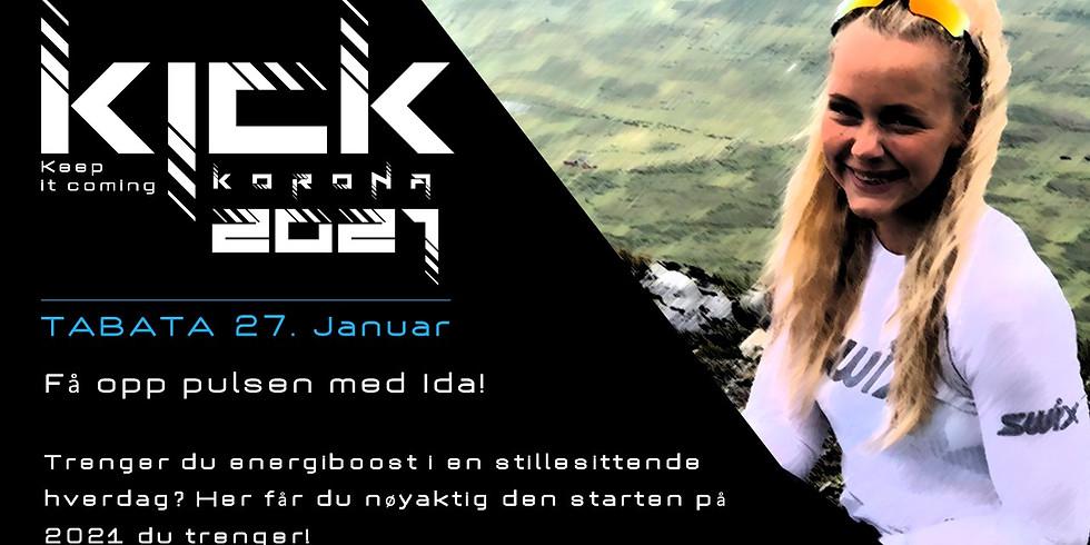 KICK 2021 - Tabata med Ingrid!
