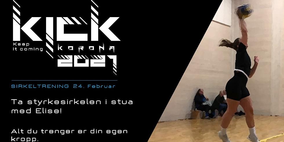 KICK 2021 - Sirkeltrening med Elise!