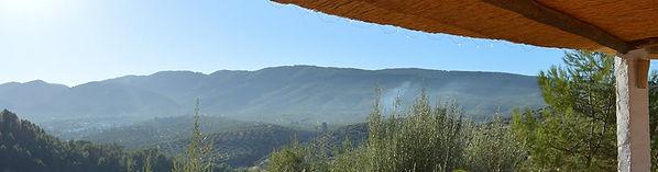 Cortijo Las Salinas - view from the yoga shala