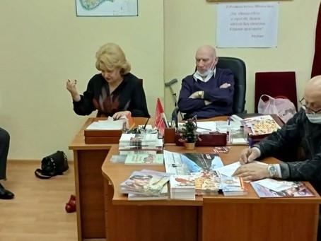 Нина Останина встретилась с активом Краснопресненского местного отделения КПРФ.