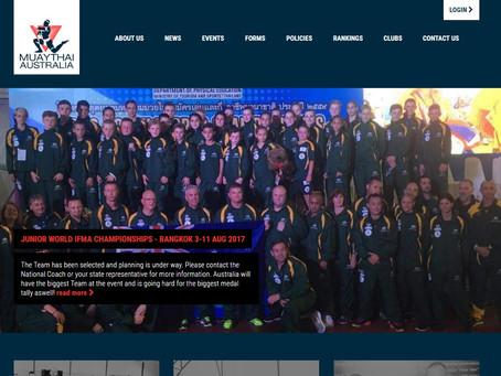 New Face of Muaythai Australia Website