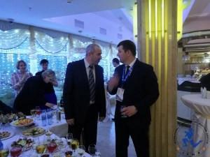 General Yury Karaev Belarus Muaythai Federation and Aleksandr Baraulya , Ministry of Sport Belarus