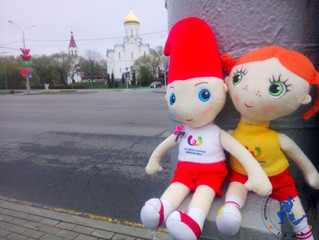 Hansel and Gretel from The World Games arrive in Minsk!