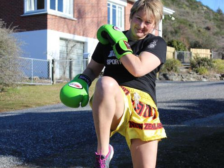 Fighting her way on to world stage