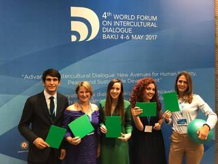 Muaythai Oceania President, speaker at 4th World Forum on Intercultural Dialogue, Baku