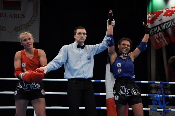 57kgs Austria Christin Fieldler v France Page Illeo